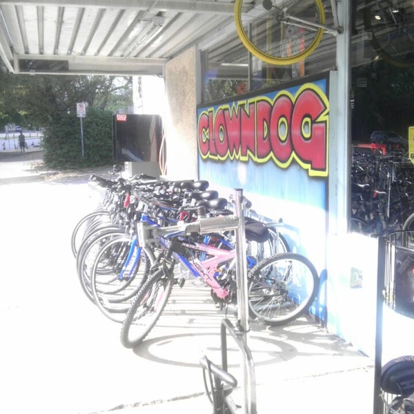 Photo Taken at Clown Dog Bike