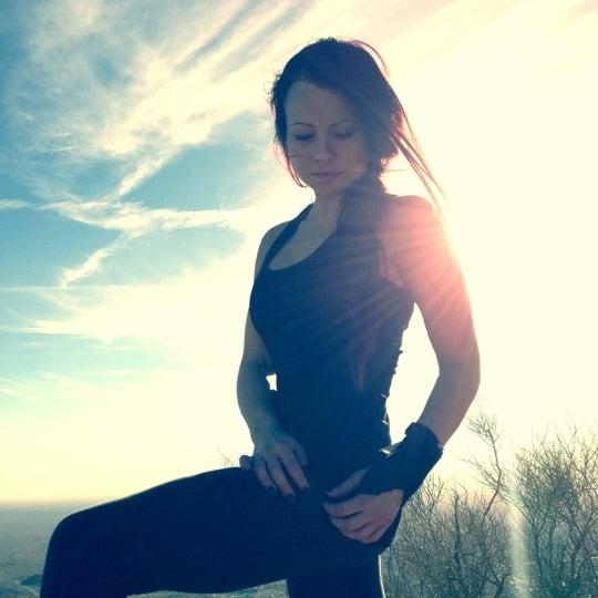 Photo taken at Sunrise Peak by Nicole Stella on 12/12/2012