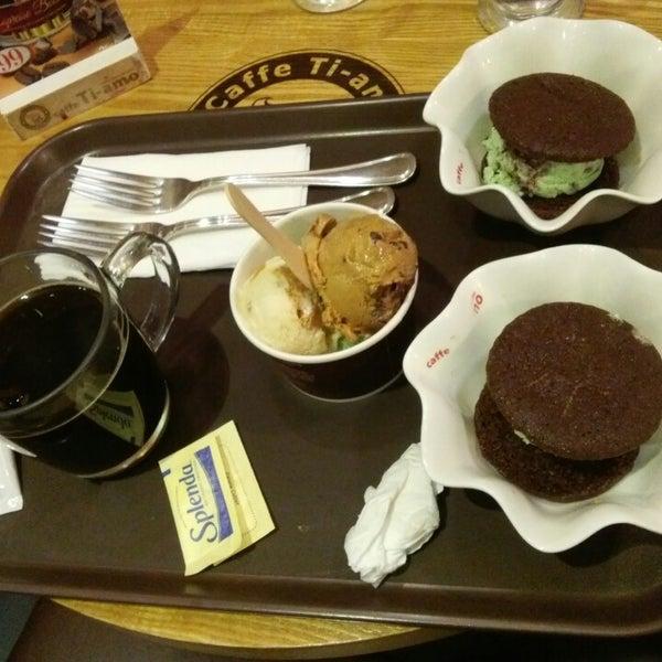 Photo taken at Caffè Ti-amo by Jennifer R. on 2/5/2015