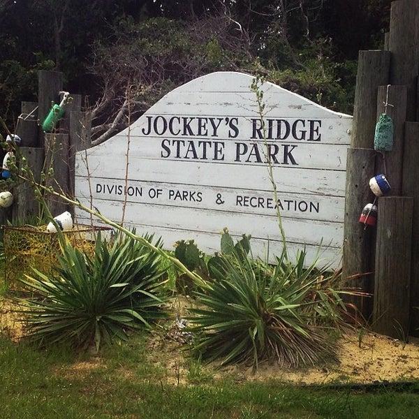 Photo taken at Jockey's Ridge State Park by Kelly F. on 7/9/2013