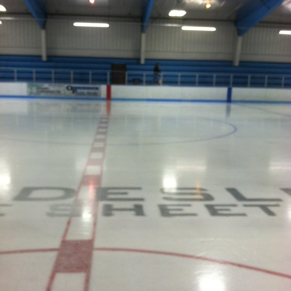 Photo taken at Charles Moore Arena by Joy J. on 3/15/2013