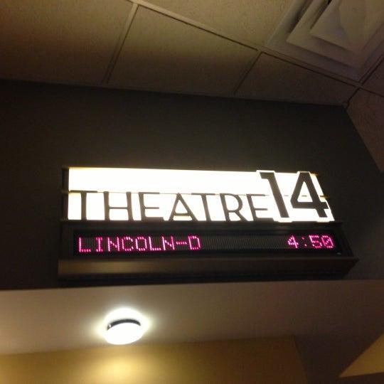 Photo taken at AMC Columbia 14 by Akshay B. on 11/18/2012