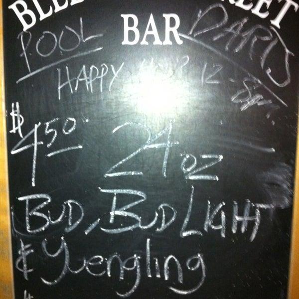 Photo taken at Bleecker Street Bar by Alex M. on 12/26/2012