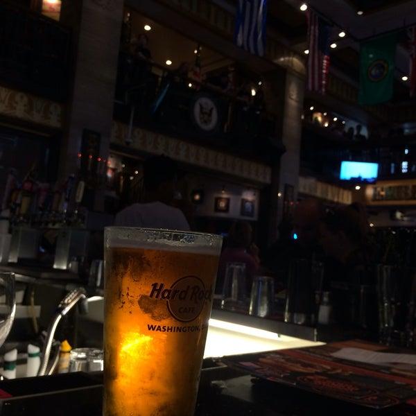 Photo taken at Hard Rock Cafe Washington DC by Ivan N. on 5/20/2016