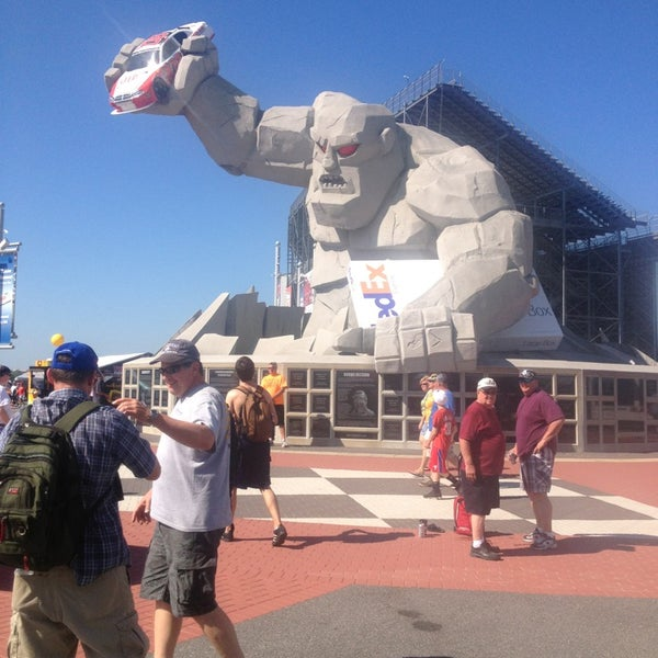 Photo taken at Dover International Speedway by Bradley C. on 6/1/2013