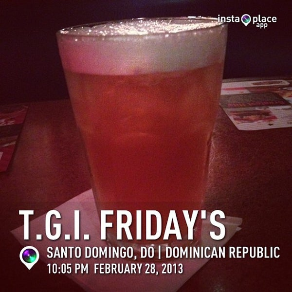 Photo taken at T.G.I. Friday's by Lily N. on 3/1/2013