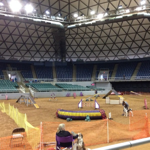 Photo taken at Bell County Expo Center by Joan B. on 7/27/2014