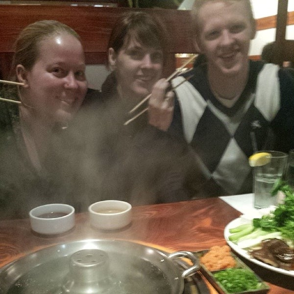 Photo taken at Shabu-Tatsu by Mike C. on 2/24/2014