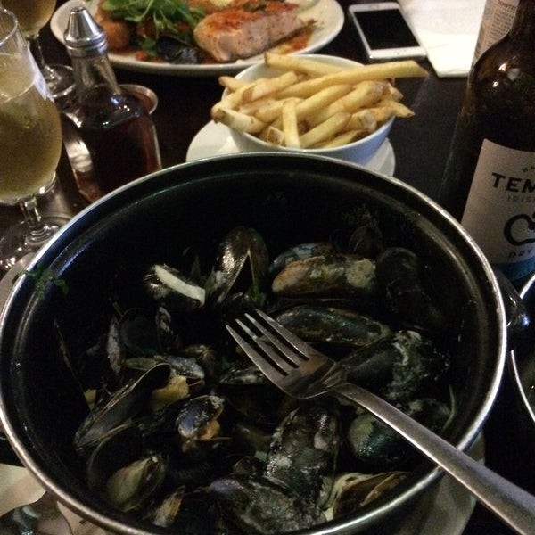 The mussels are to die for! Perfect flavour and very fresh.