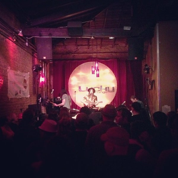 Photo taken at Lucky Lounge by @Roem on 3/14/2013