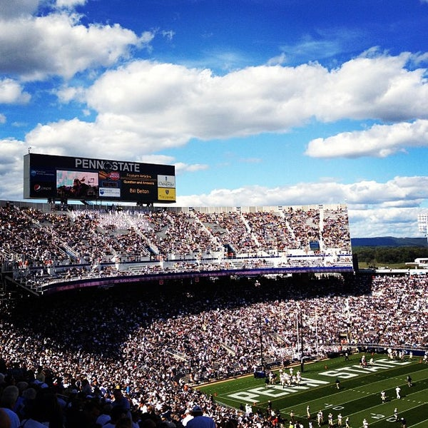 Photo taken at Beaver Stadium by Mike P. on 9/15/2012