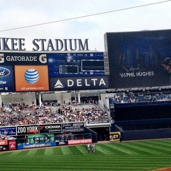 Photo taken at Yankee Stadium by Dave K. on 7/13/2013