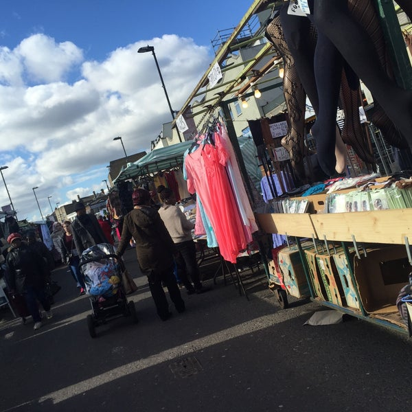 Photo taken at Ridley Road Market by Buke S. on 3/4/2016