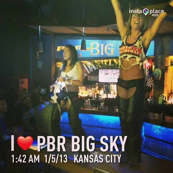 Photo taken at PBR Big Sky by DJ Soap on 1/5/2013