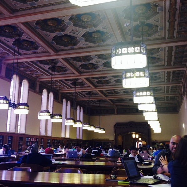 Photo taken at Doheny Memorial Library (DML) by Michelle H. on 3/8/2014