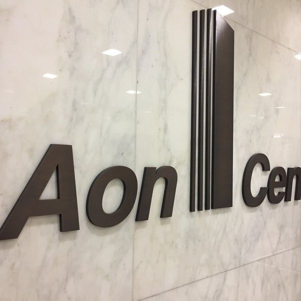 Photo taken at Aon Center by John R D. on 12/7/2016