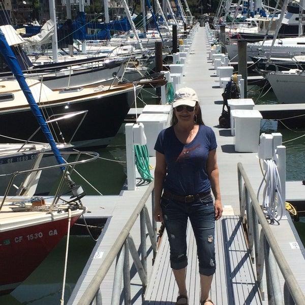 Photo taken at San Francisco Yacht Club by Karin B. on 5/29/2014