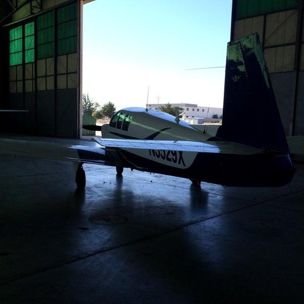 Photo taken at Skydive Monterey Bay by Carmen V. on 8/13/2014