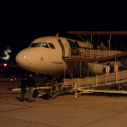Photo taken at Phoenix-Mesa Gateway Airport (AZA) by Derek D. on 1/8/2013