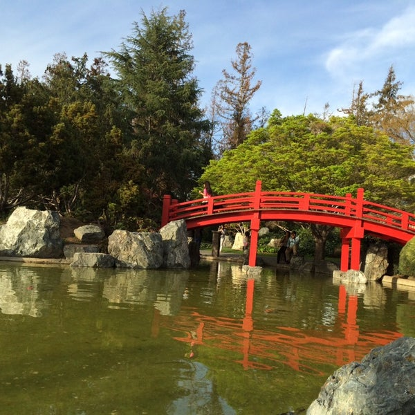 Photo taken at Japanese Friendship Garden by Julia P. j. on 3/9/2014
