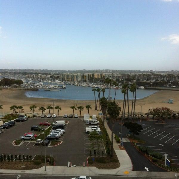 Photo taken at Marina Del Rey Marriott by Beth K. on 4/8/2013