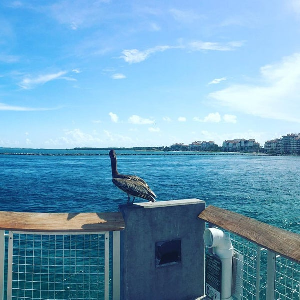 Photo taken at South Pointe Pier by faruk b. on 7/3/2016