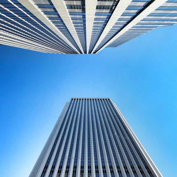 Photo taken at Aon Center by Radim S. on 12/4/2014