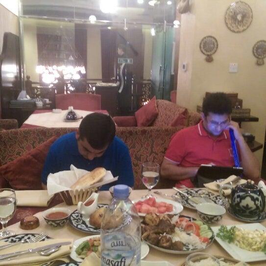 Photo taken at Gulnaz Cafe by H G. on 7/16/2014