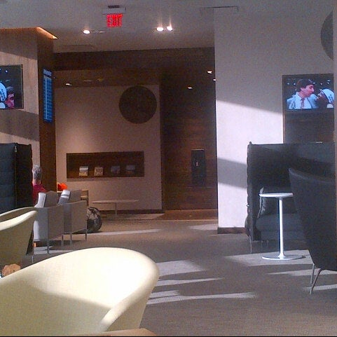 Photo taken at The Centurion Lounge by American Express by Russell F. on 3/23/2013