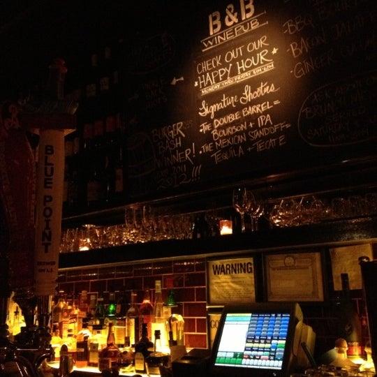 Photo taken at B & B Winepub (Burger & Barrel) by QueKay09 on 10/18/2012