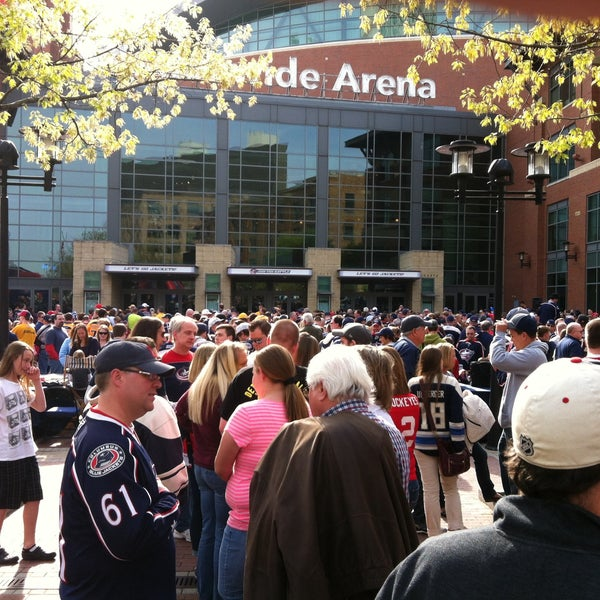 Photo taken at Nationwide Arena by Tami C. on 4/27/2013