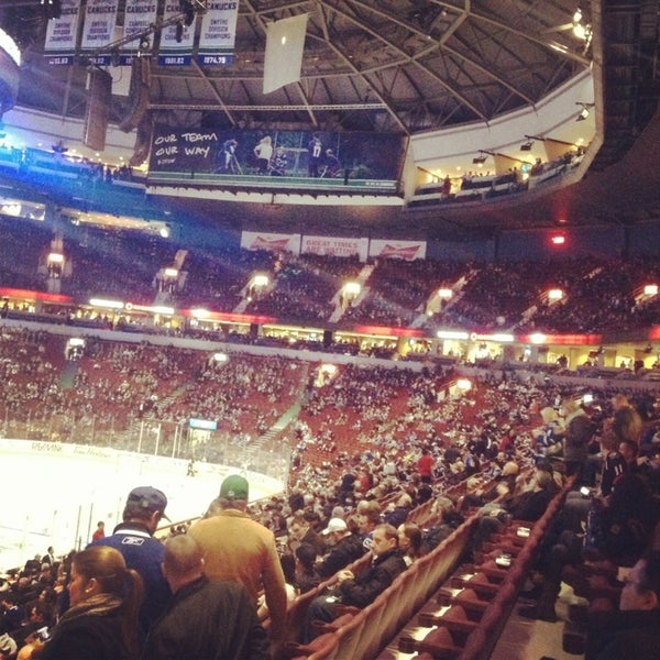 Photo taken at Rogers Arena by Andrey V. on 1/31/2013