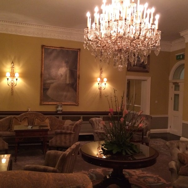 Photo taken at Merrion Hotel by Bill M. on 2/12/2014