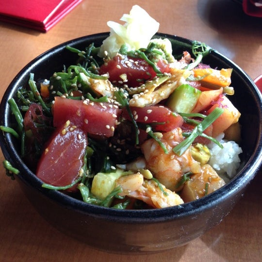 Photo taken at RA Sushi by Tiffany S. on 10/17/2012