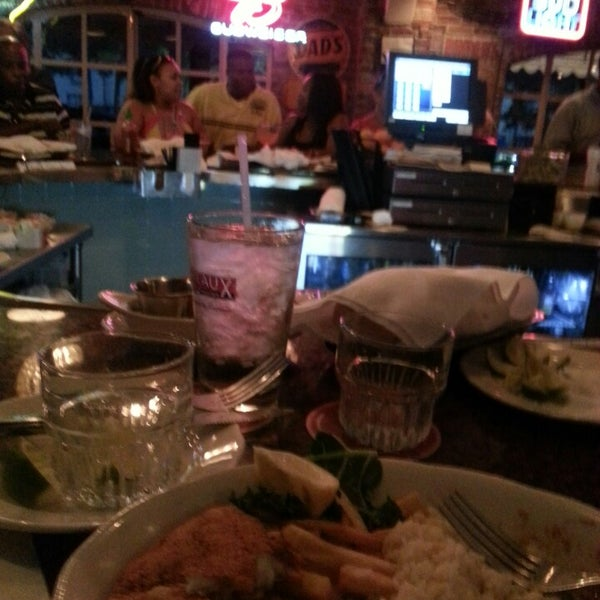 Photo taken at Pappadeaux Seafood Kitchen by Stephanie S. on 6/8/2013