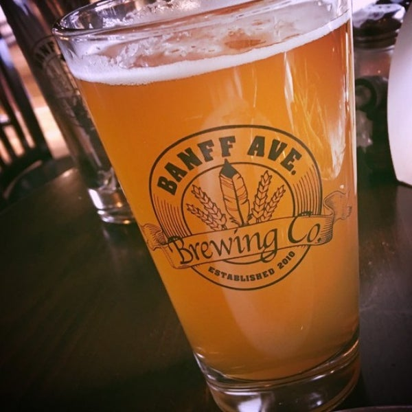 Photo taken at Banff Avenue Brewing Co. by Ross G. on 4/22/2016