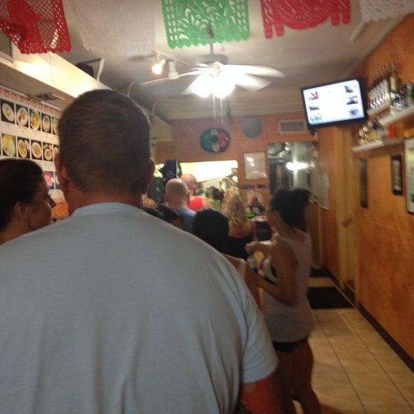 Photo taken at Tia Cori's Tacos by Steven M. on 5/24/2014