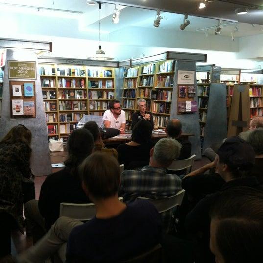 Photo taken at McNally Jackson Books by KW on 10/14/2012