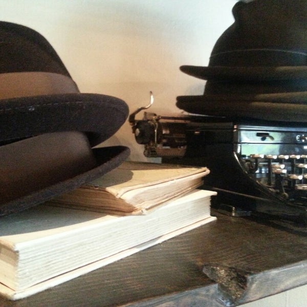Photo taken at Goorin Bros. Hat Shop by Amanda T. on 9/14/2013