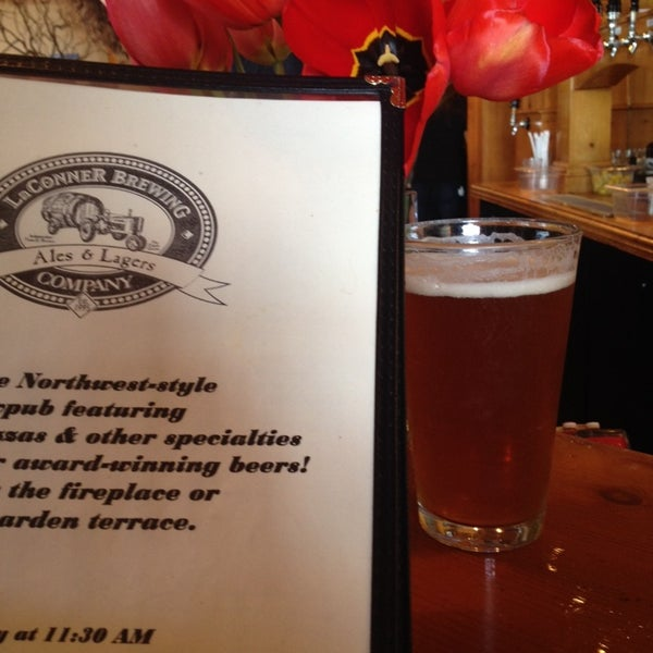Photo taken at La Conner Brewing Company by Karen K. on 4/18/2014