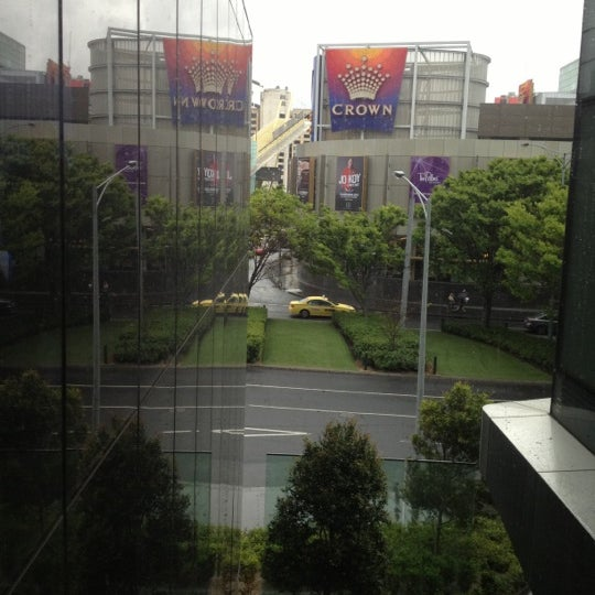 Photo taken at Crown Metropol Hotel by 🅱eNNy ♋. on 10/6/2012