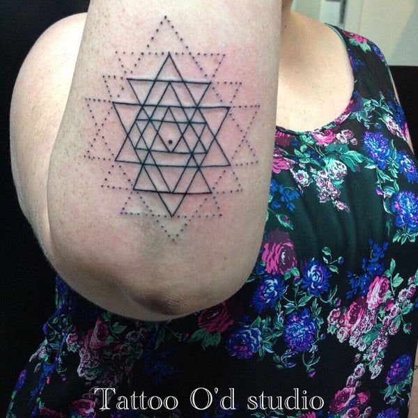 Photo taken at Tattoo O'd studio by Boho M. on 4/18/2015