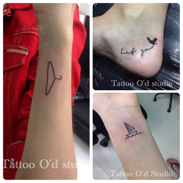 Photo taken at Tattoo O'd studio by Boho M. on 7/13/2014