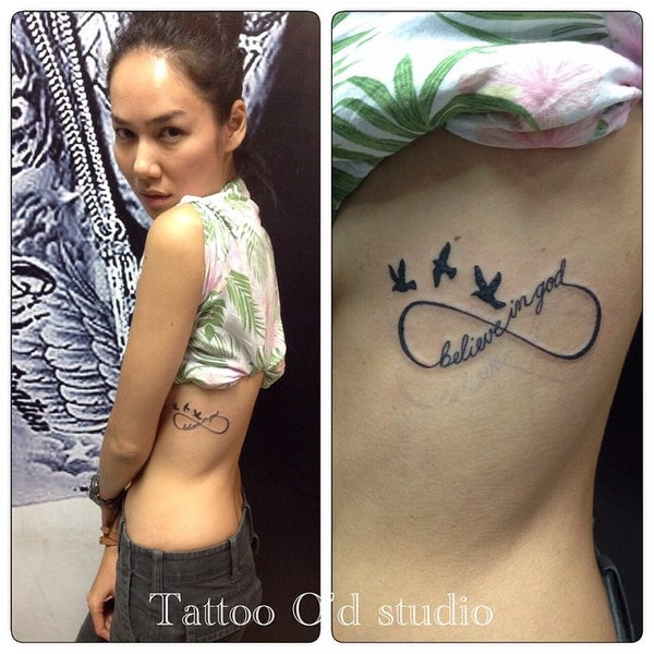 Photo taken at Tattoo O'd studio by Boho M. on 3/16/2015