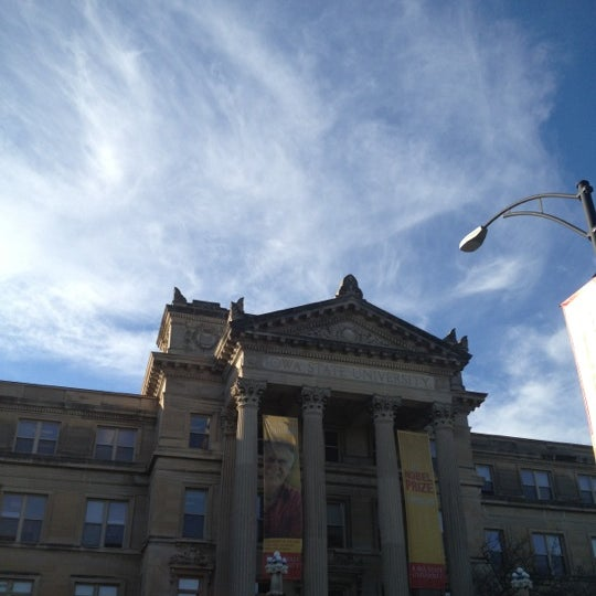 Photo taken at Beardshear Hall by Tracy W. on 11/21/2012