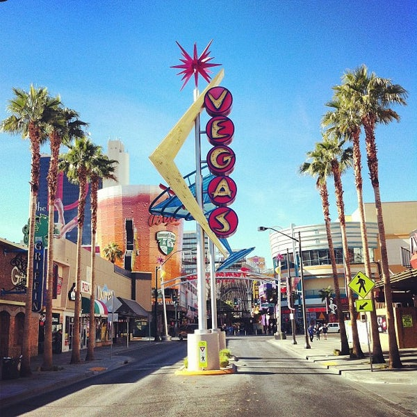 Fremont East Entertainment District Downtown Las Vegas Las Vegas NV