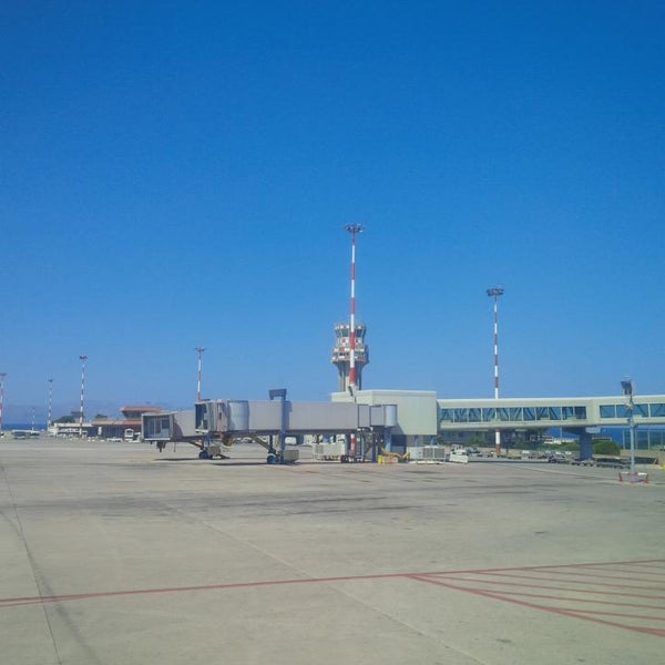 Photo taken at Palermo Airport (PMO) by Oleg M. on 8/4/2013