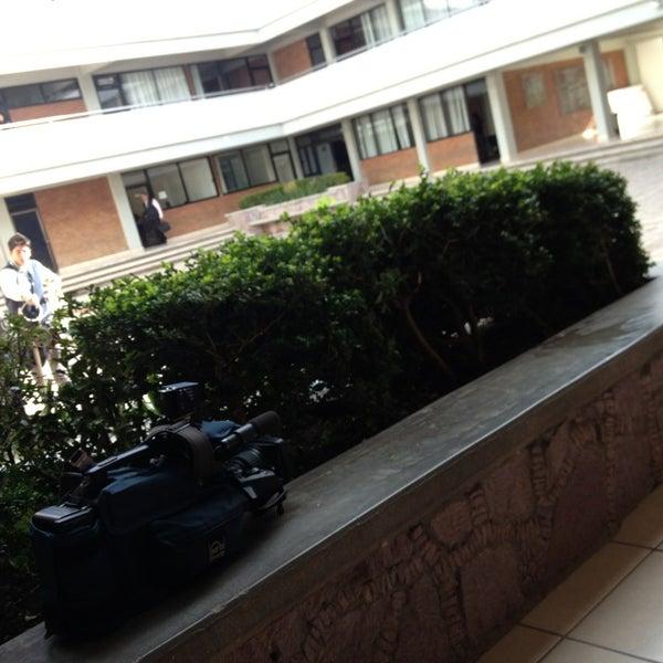 Photo taken at Universidad Autónoma de Durango Campus Zacatecas by Ësäu L. on 2/19/2013
