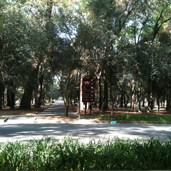 Photo taken at Bosque de Chapultepec by David M. on 2/21/2013