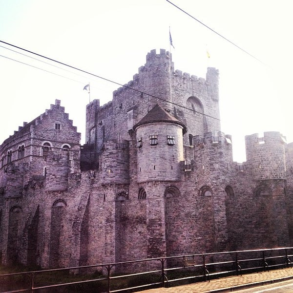 Photo taken at Gravensteen / Castle of the Counts by Stefan V. on 6/7/2013